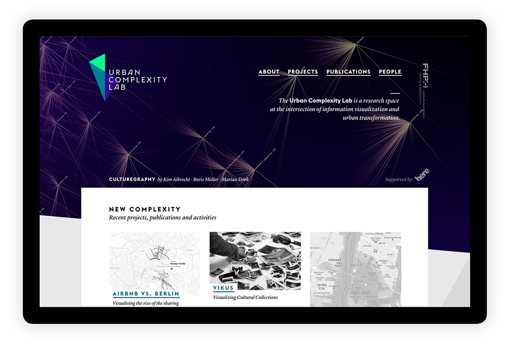 Urban Complexity Lab · Website